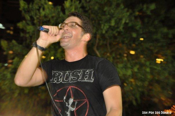 Supertzar, live in Singapore, October 21st 2011