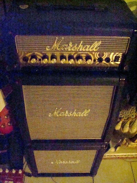 Marshall mini-stack (Zakk Wylde signature series)