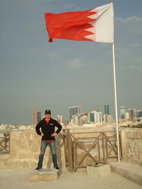 Peter in Bahrain