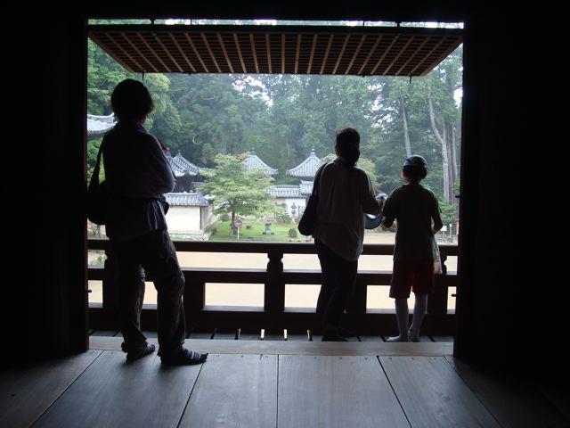 At Shosha-zan monastery
