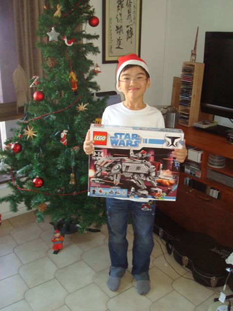 Zen got what he wanted for Christmas, yay!!!