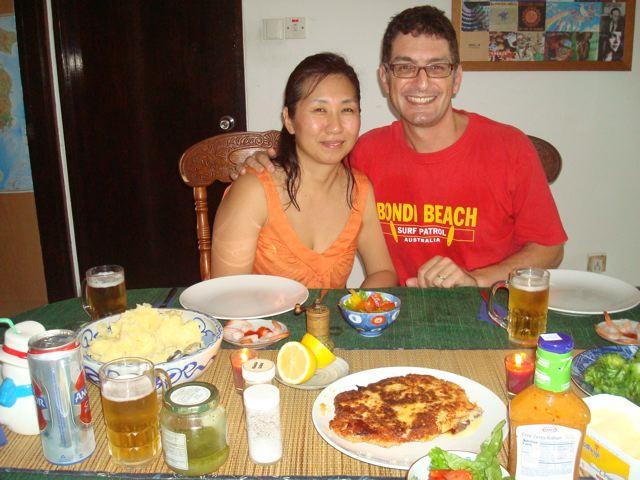 Peter and Naoko