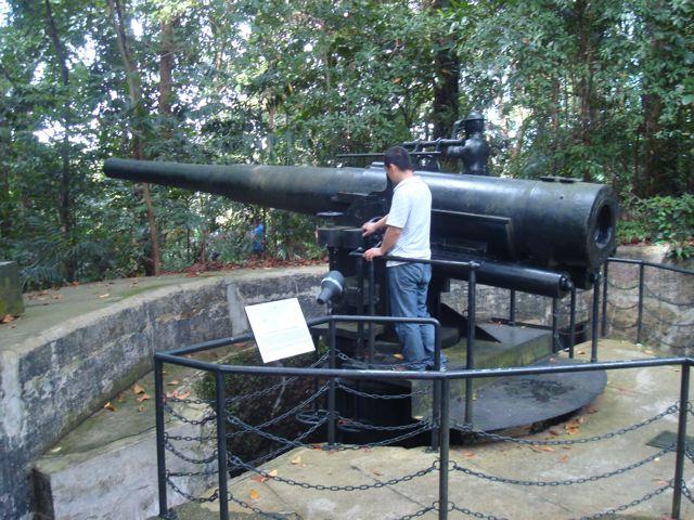 I found a 6-inch WWII era gun!