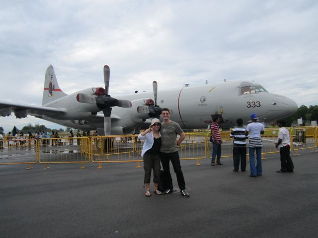 Peter, Naoko, bomber