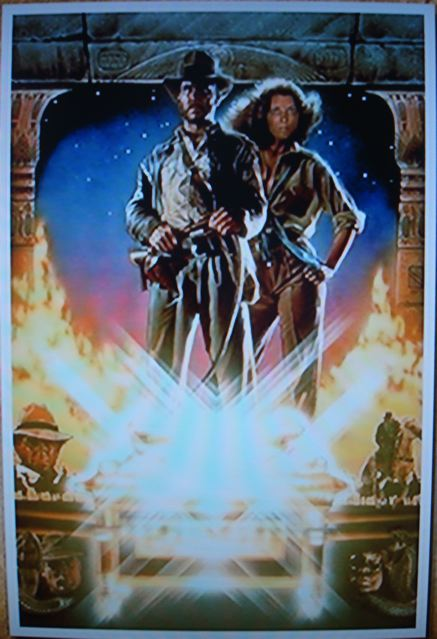 Disco-looking Raiders of the Lost Ark poster (part II)