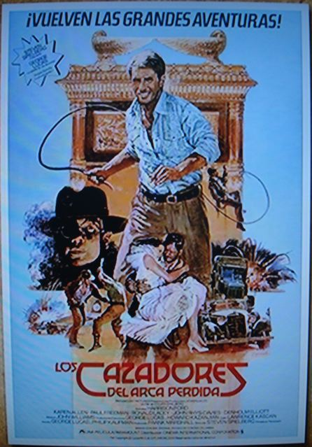 Disco-looking Raiders of the Lost Ark poster