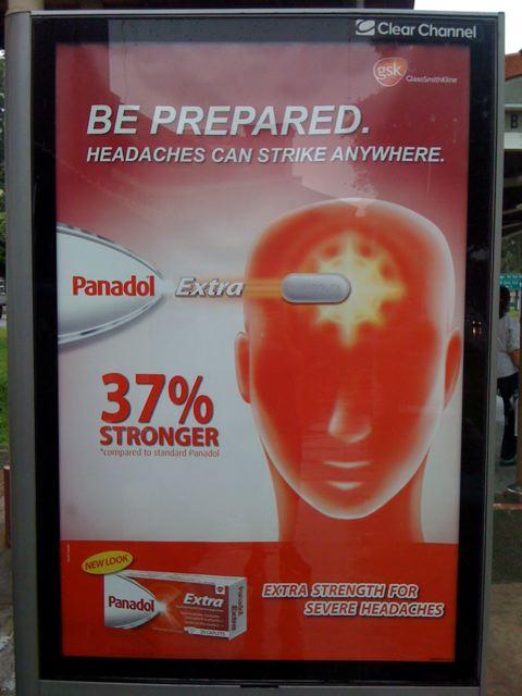 Be prepared... headaches can strike anywhere!