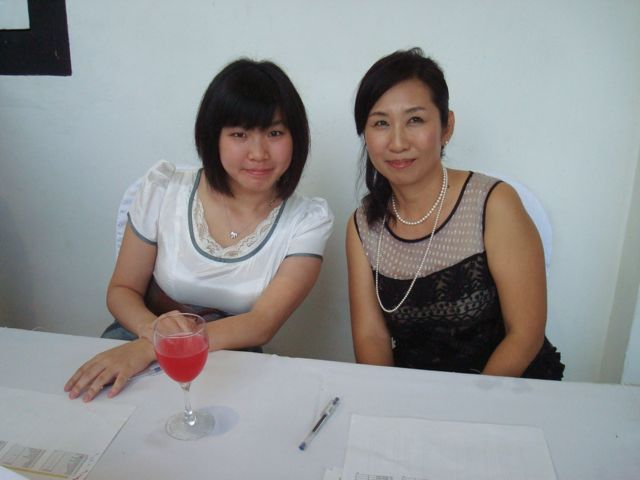 Naoko and friend