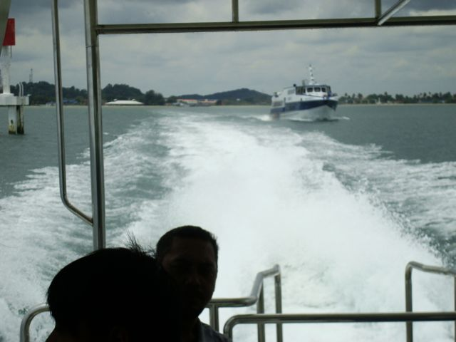On our way to Pulau Rawa