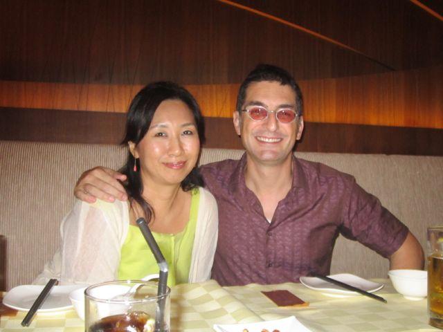 Happy birthday Naoko! We ate chili crab!!