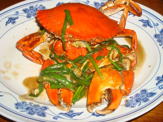 White pepper crab at No Signboard - also yummy!