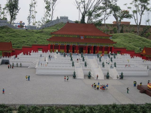 mini Lego Forbidden City