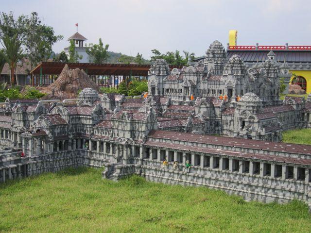 mini Lego Angkor Wat