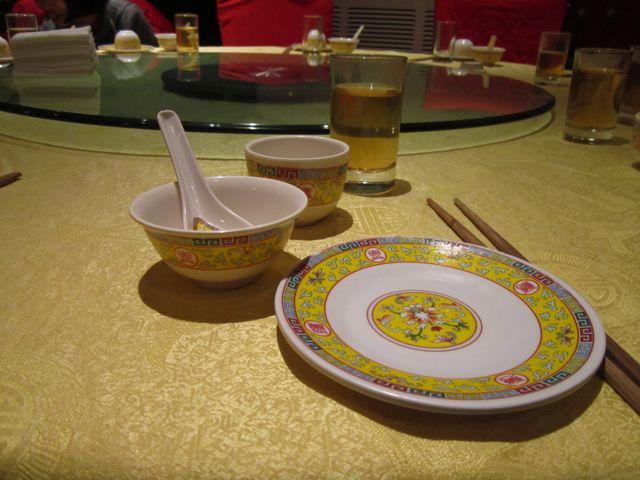 before dinner