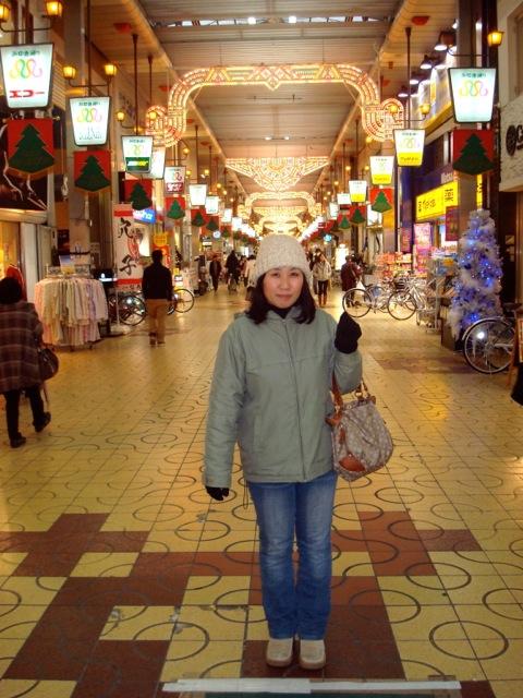 Naoko with Himeji Luminarie