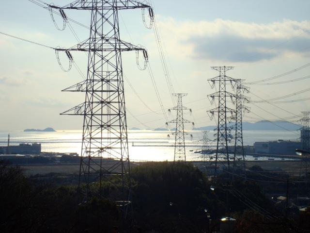 View of Himeji from Megayama