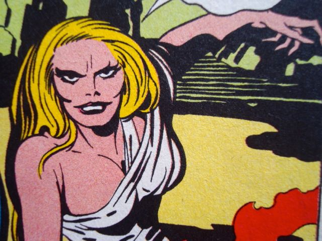 Galatea, the crazed actress witch from Jack Kirby's The Demon