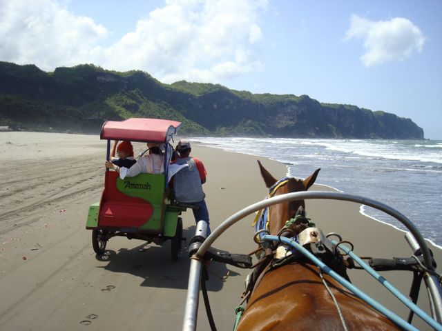 Beach buggy, Indonesia style!