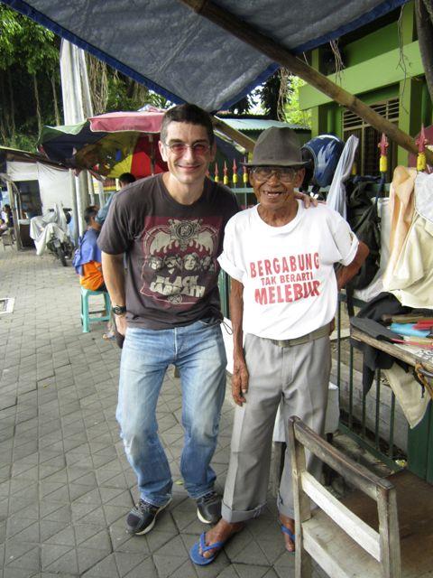 Me 'n' my Javanese barber