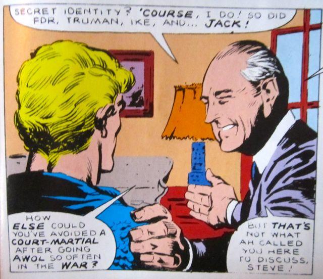 Cap and Truman