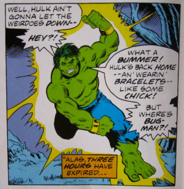 Hulk, the macho hippy