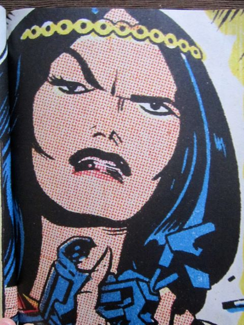 Big Barda is STILL not pleased!