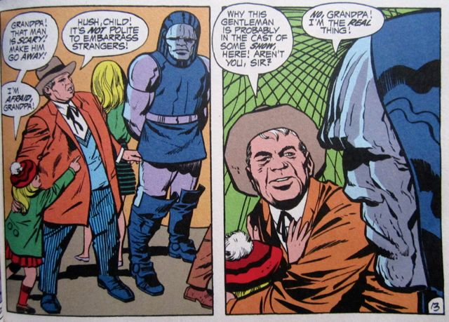 Darkseid, the creepy uncle
