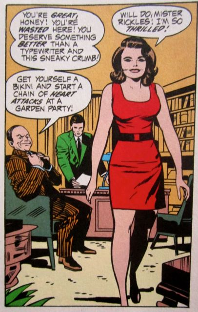 Don Rickles, Jack Kirby-style