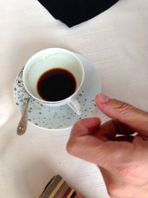 coffee hand