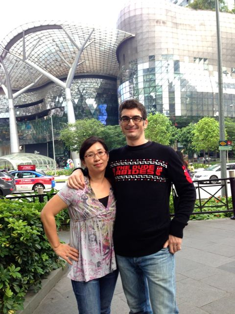On Orchard Road, after seeing Star Trek: Into Darkness