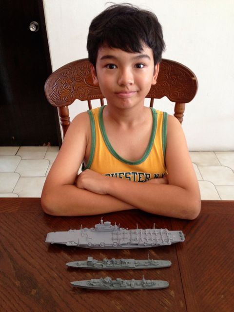 Zen and his completed battleships