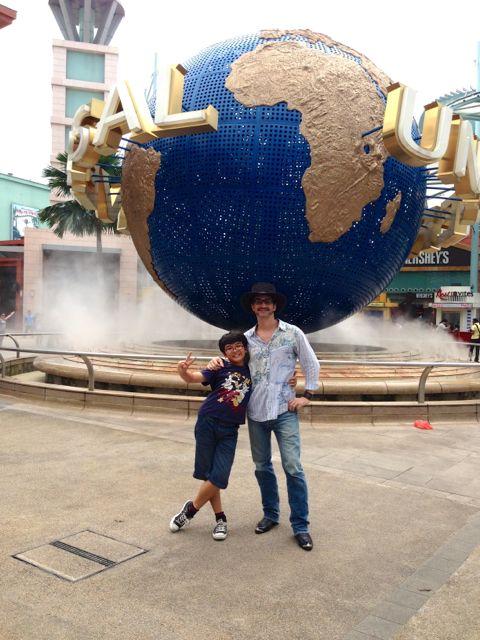 Universal Studios posers!!
