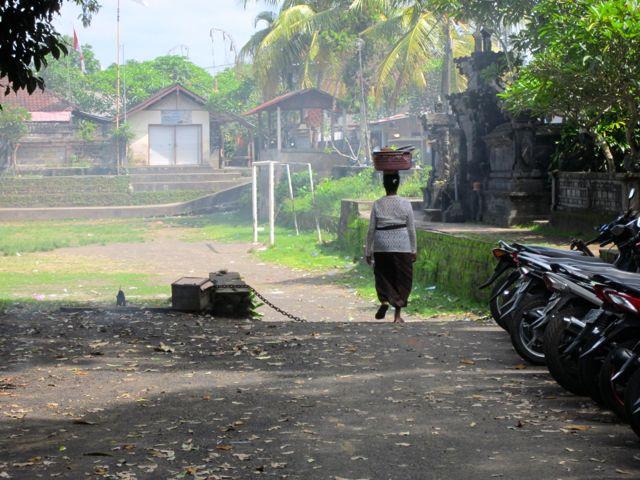 Ubud villager