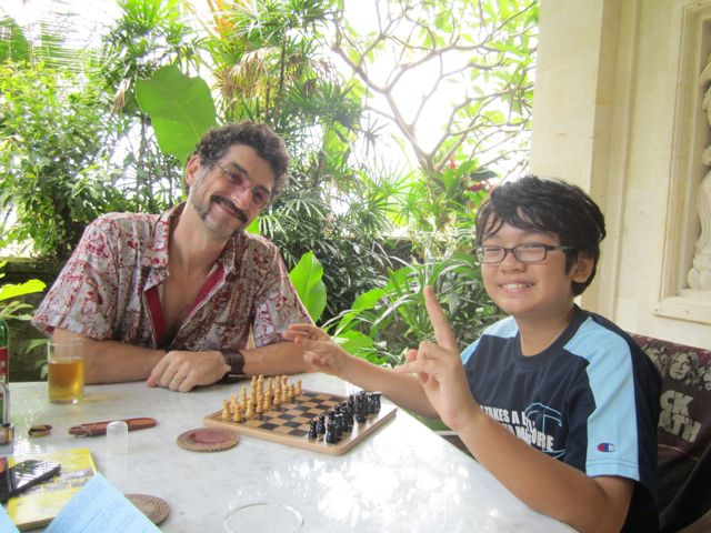 Chess at Second Honeymoon!!