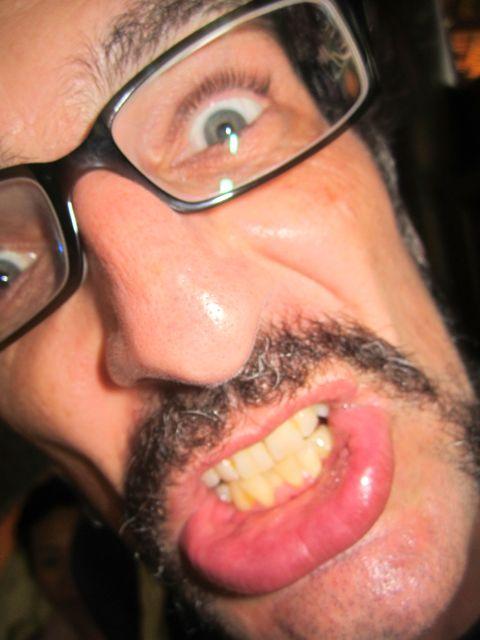 Moustache man!!