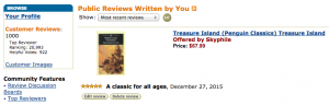 my 1000th Amazon review