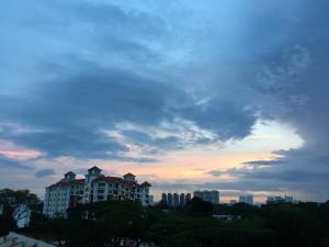 Singapore balcony