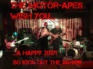The Motör-Apes 2016 wish