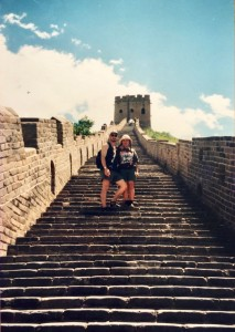 Honeymoon China Great Wall Peter Naoko