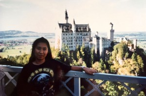 Honeymoon Germany Naoko Neuschwanstein