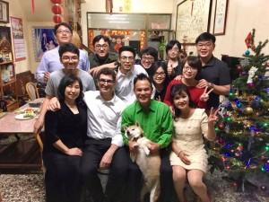 Tainan Peggy's wedding Peter Naoko Zen Bruce Annd, Peggy Judy Deuch