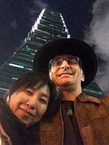 Taipei 101 Peter Naoko