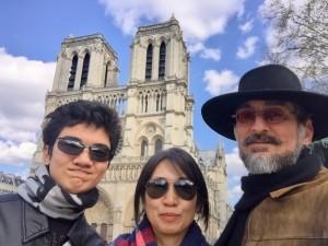Notre Dame de Paris Peter Naoko Zen